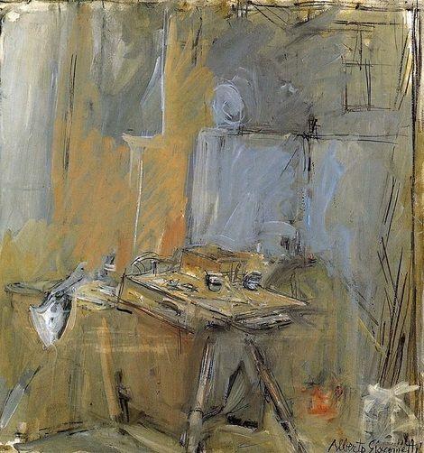 Alberto Giacometti, The Studio on ArtStack #alberto-giacometti #art