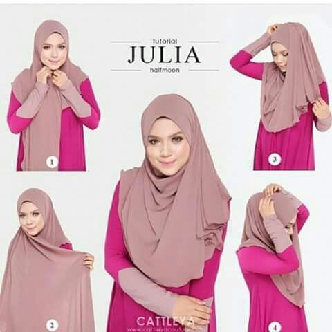 Halfmoon hijab