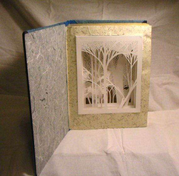 papercutting within a book