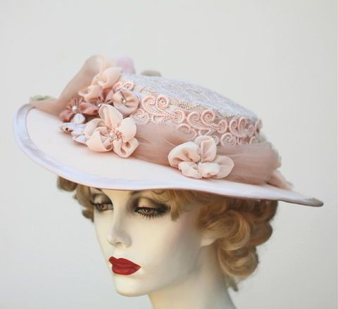 36 Best Images About Shabby Chic Hats On Pinterest