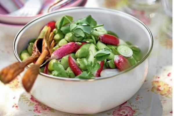 Dicke-Bohnen-Salat und 87.000 weitere Rezepte entdecken auf DasKochrezept.de