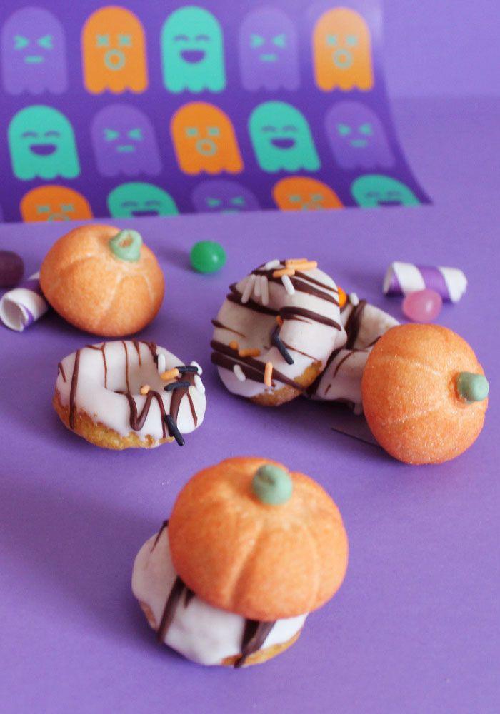 Mini ciambelle di Halloween