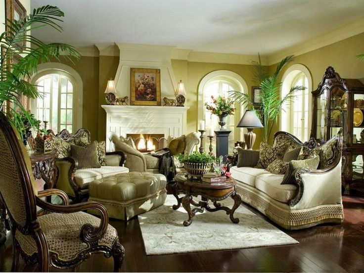 Sofa BedSleeper Sofa formal living room furniture and fireplace with table lamp also painting