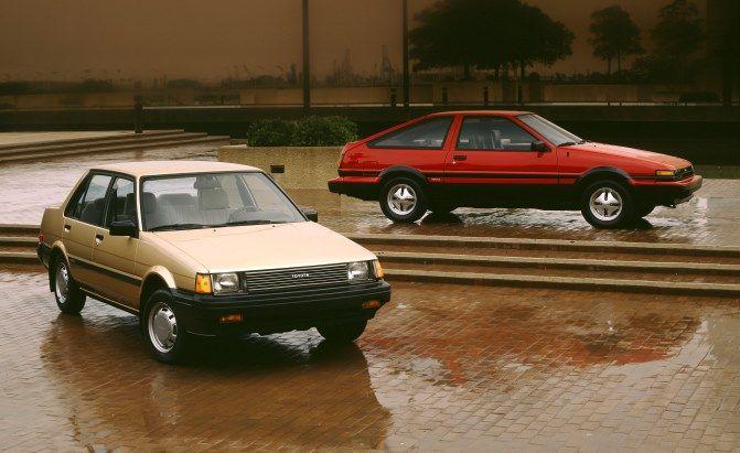 Believe It or Not: Toyota Corollas Weren't Always Boring