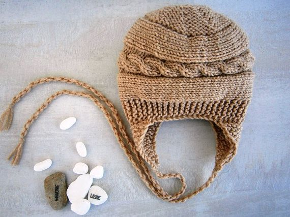 Knit Baby Boy Hat Baby Boy Knit Hat Baby Boy by PrettyBagsByMia