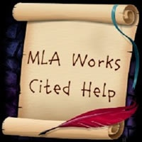 MLA citation help; color coded from Long Island University