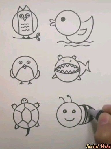 Lovely Drawings you can teach your kids! 😉