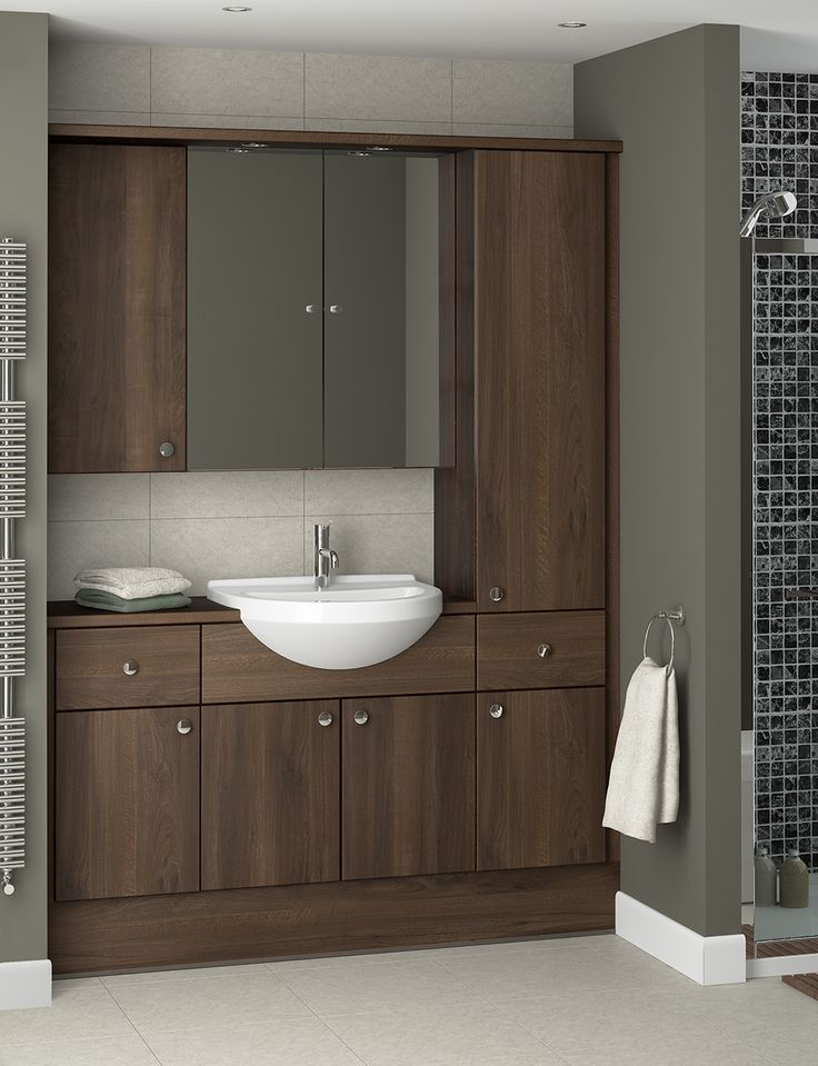Indulge in Mocha Walnut, for a bathroom with a cosy atmosphere. Surround yourself with luxury with these deep chocolate tones. Keep the rich, warm tones of Mocha looking modern with neutral wall colours and large, simple tiles. The more subtle colours will make Mocha stand out.