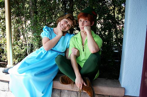 Spieling Peter and Carebear Wendy
