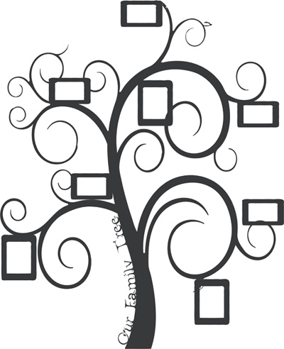 family frame tree wall decal our designs pinned by you wall