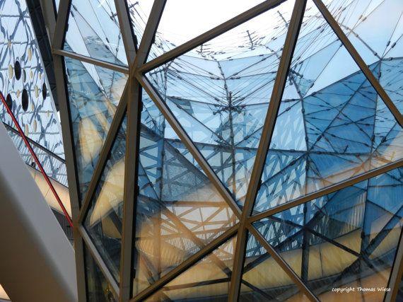 Photography glass roof My Zeil Frankfurt am by abrakadabra5910