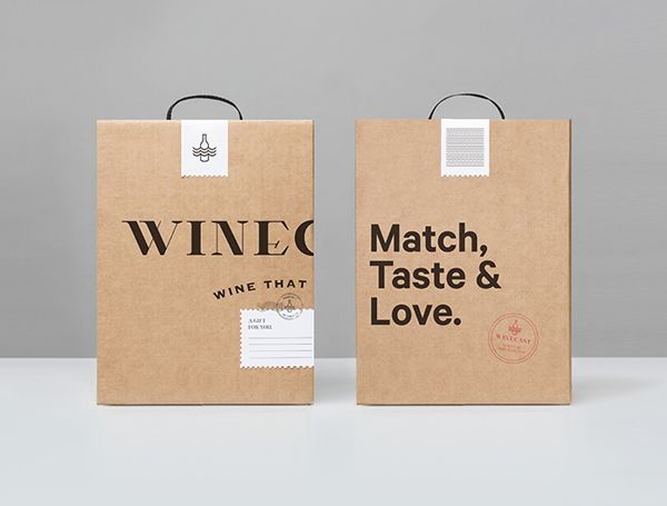5371 best design packaging images on pinterest for Best wine delivery service