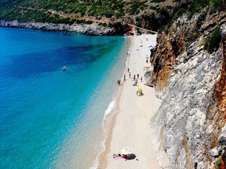 ALBANIA ( Gjipe Beach - Virgin Beach )