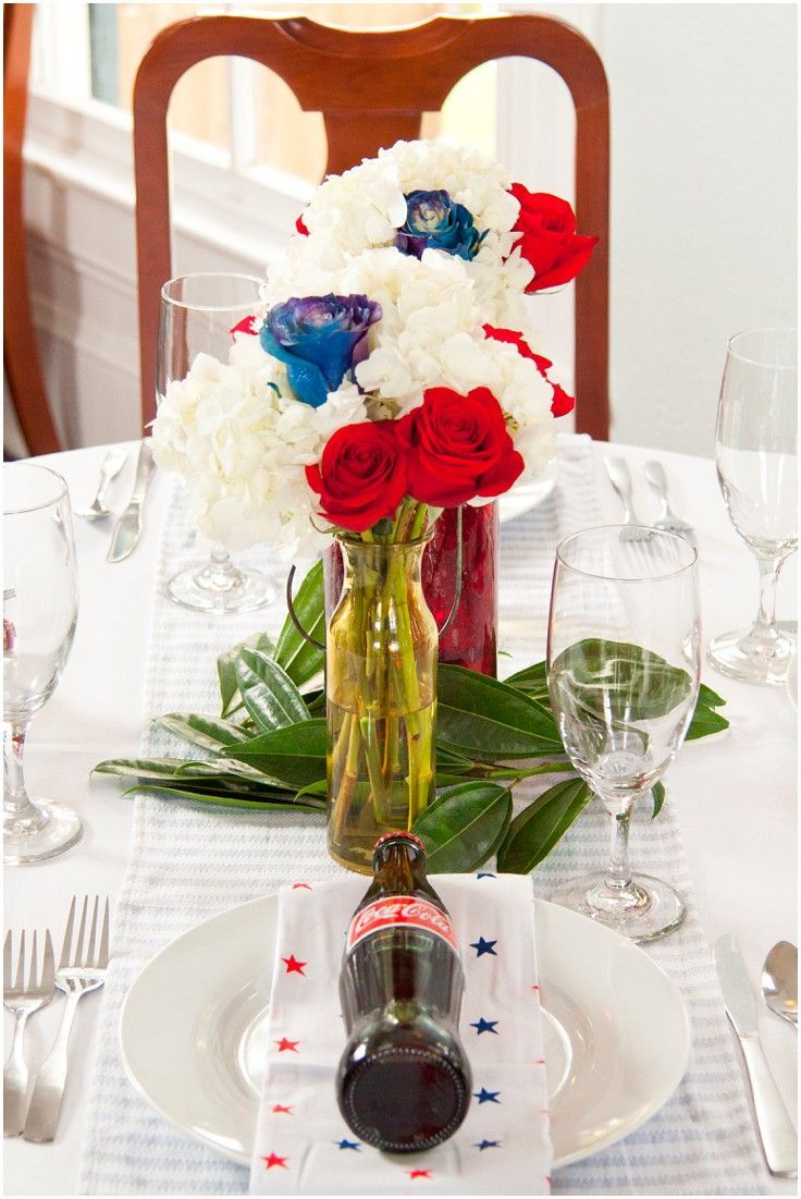 Casual 4th Of July Wedding Inspiration Shoot At Carr Mansion