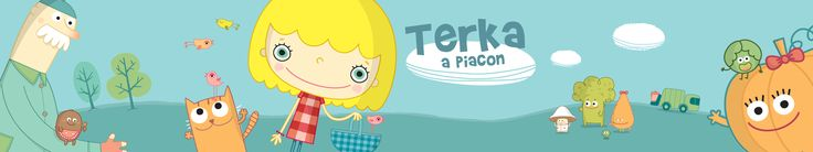 Terka a piacon - Hungarian promotional artwork for Terri at the Market #iPad #storybook