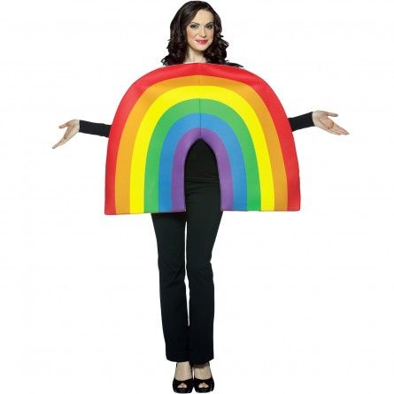 Adult Lucky Rainbow Costume
