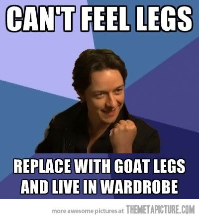 Xmen Narnia humor  (I will admit I didn't realize it was teh same person till I saw this meme)