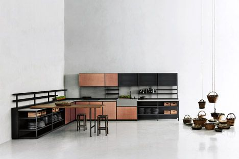 Patricia Urquiola's Salinas Kitchen System For Boffi Hides Wires And Pipes | Architecture