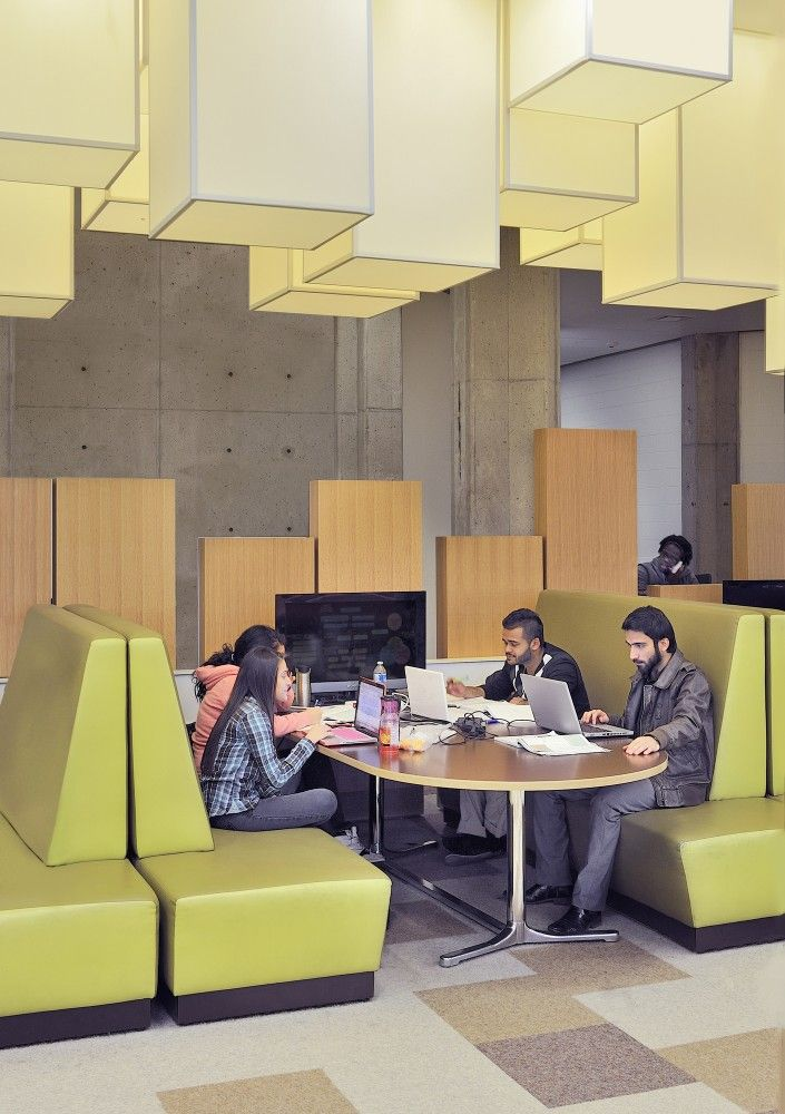 Gallery of York University Learning Commons / Levitt Goodman Architects - 6