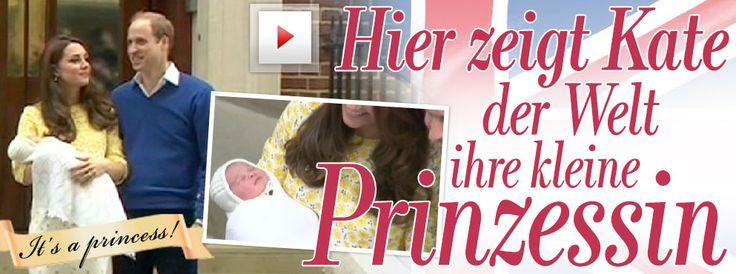 Royal-Baby ist da: Es ist ein Mädchen! - Die Welt wartet auf die Prinzessin -  Das Glück ist perfekt: Prinz William und seine Kate sind jetzt Eltern eines Prinzen und einer Prinzessin http://www.bild.de/unterhaltung/royals/catherine-mountbatten-windsor/royal-baby-zwei-ist-da-40787564.bild.html