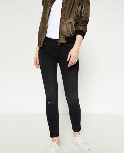 Black jeans Zara
