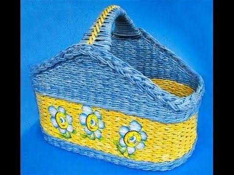 Asa para cestas. Parte 9