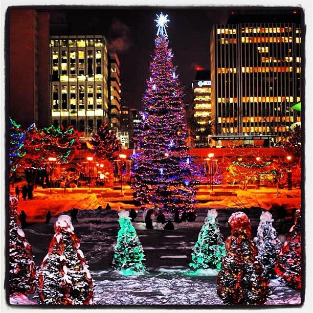 Christmas In Edmonton, Alberta Http://www.Characters.ca