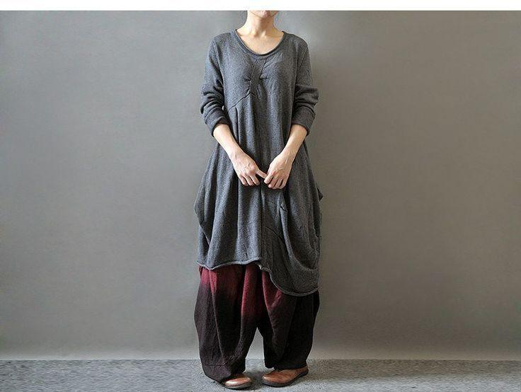 Women Autumn And Winter Long Sleeve Knitting Cotton Sweater
