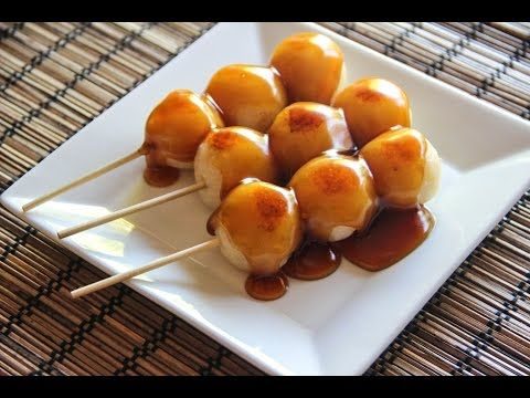 Mitarashi Dango Recipe – Japanese Cooking 101