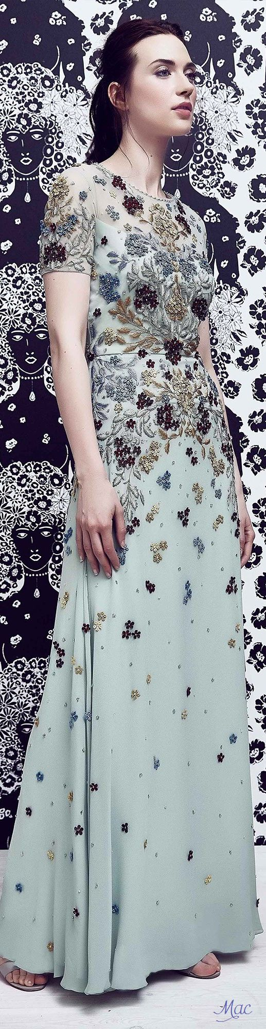 Resort 2017 Jenny Packham                                                                                                                                                                                 More