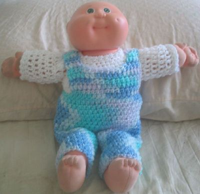 Cabbage Patch Kid Baby Overalls
