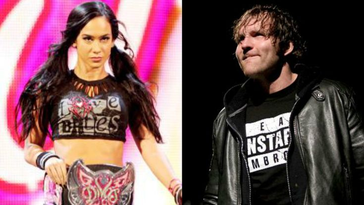 Former WWE Writer Pitched An Idea For AJ Lee And Dean Ambrose To Be WWE's Bonnie And Clyde