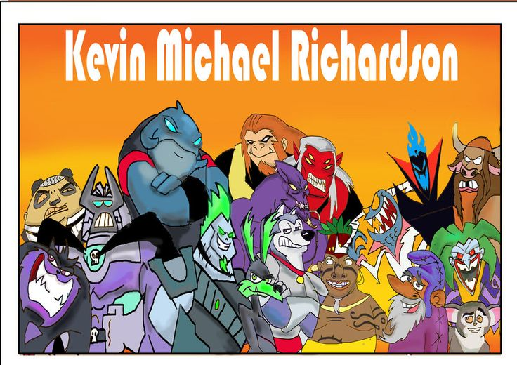 Kevin Michael Richardson tribute by raggyrabbit94.deviantart.com on @deviantART