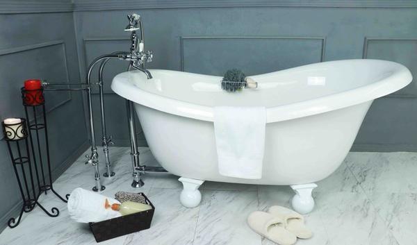 Clawfoot Slipper Bathtub Bathtub Clawfoot Bathtub Tub