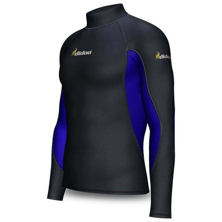 Didoo's Mens Thermal Cold Wear Topsfeature a lightweight, with a ultra warm brushed interior with the four way stretch material which allows total freedom of movement.  Two Colors Compression top with Mock Neck Thermal Cold wear Fabric  Ideal for Cold weather Soft, brushed interior  4 way stretch material for rapid drying Extra support and comfort Super Roubaix material 80% Polyamide 20% Elastane