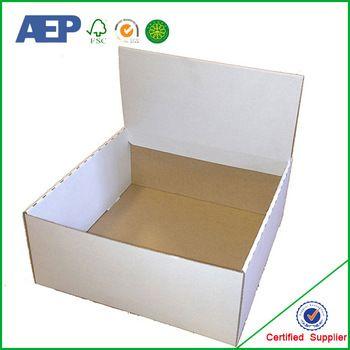 Pdq Merchandising Cardboard Retail Corrugated Display Box