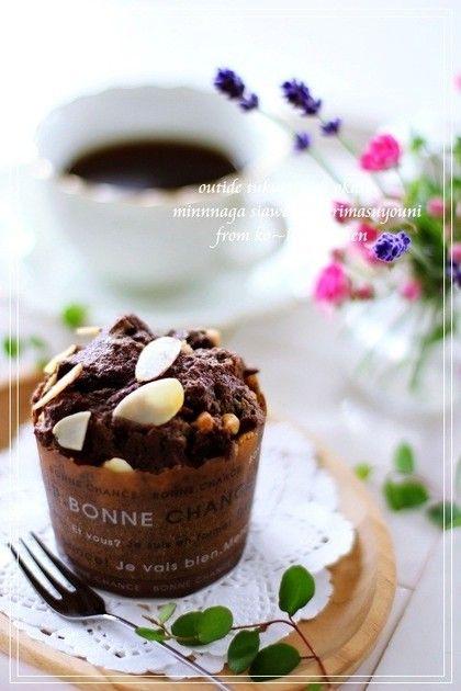 ココアだけでも美味しい・・  チョコチップを入れても美味しい・・