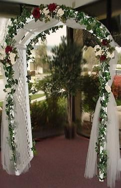 decorated arches for weddings | Wedding Arch Rental For Your Big Day! | Party Rentals and Equipment ...