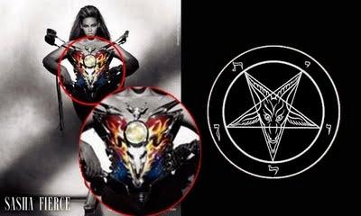 Beyonce, baphomet, satanic, Illuminati.