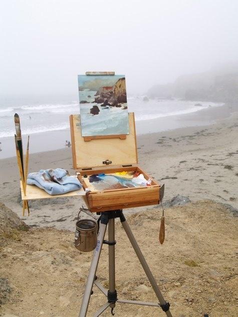 art at the beach!