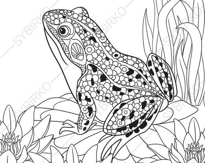 Coloring Pages For Adults Owl Eagle Owl Adult Coloring Pages Animal Coloring Pages Digital Jpg Pdf Coloring Page Instant Download Animal Coloring Pages Coloring Pages Frog Coloring Pages