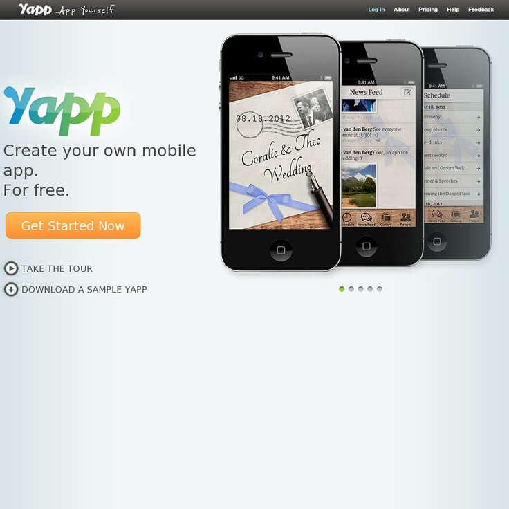 15 best yapp images on pinterest mobile app apps and create yapp app yourself create your own mobile app ccuart Images