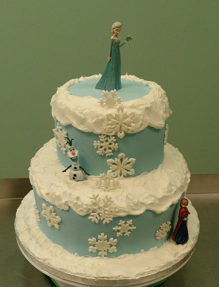 25+ best ideas about Frozen Themed Birthday Cake on ...