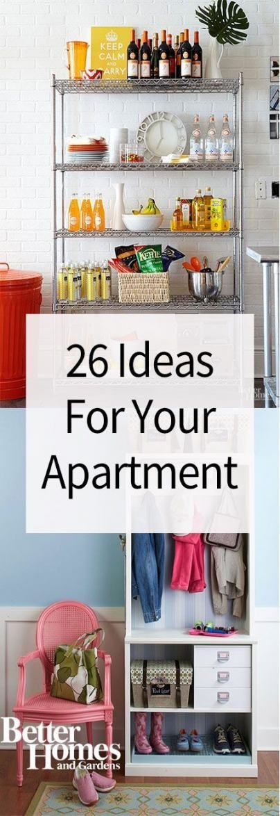 47+ Ideas diy home decor for renters small spaces rental kitchen for 2019
