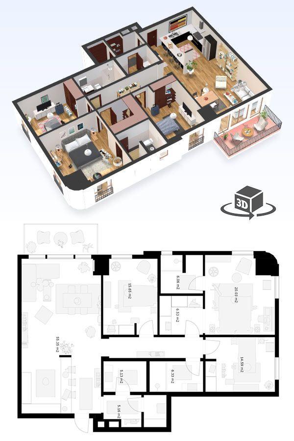 Pin by Antoaneta Mircheva on Small houses Pinterest Condo floor