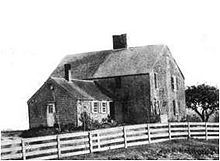 The home of John Alden. (1599 – September 12, 1687) is said to be the first person from the Mayflower to set foot on Plymouth Rock in 1620.He was a ship-carpenter by trade and a cooper for Mayflower, which was usually docked at Southampton. He was also one of the founders of Plymouth Colony and the seventh signer of the Mayflower Compact.