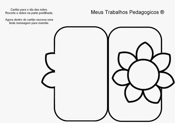 Meus Trabalhos Pedagógicos ®: Cartão para dia das mães.