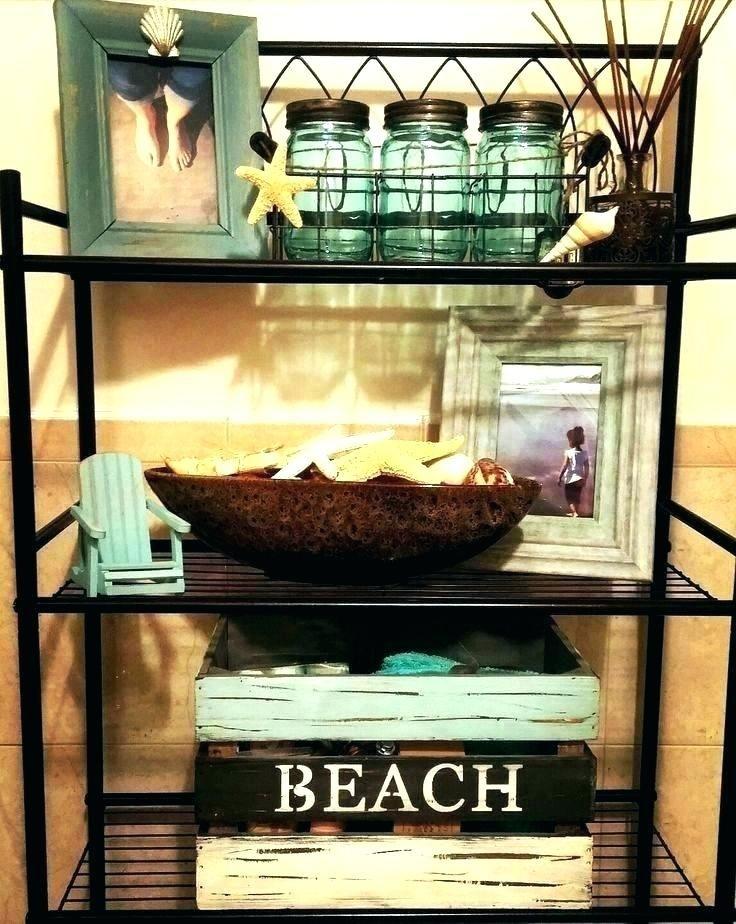 Beach Decorations For Bathrooms Decor Bathroom Ocean Themed Beach