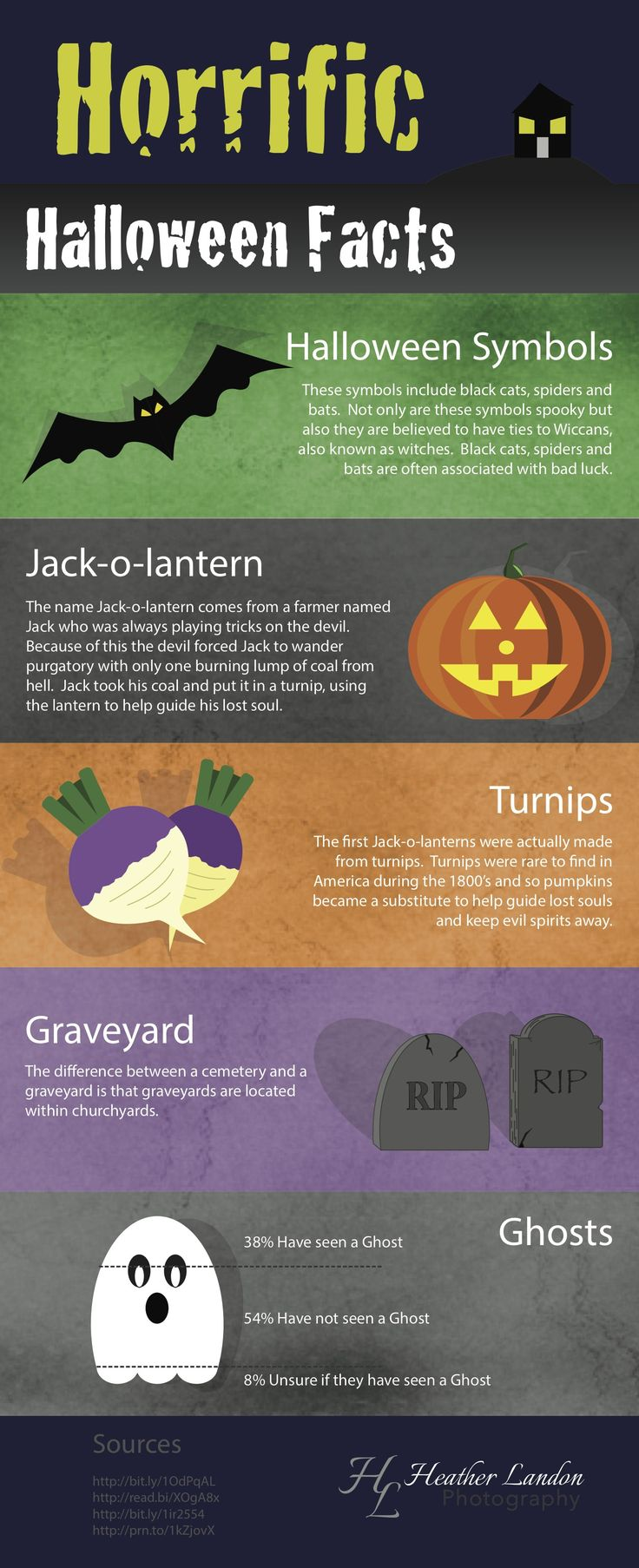 Halloween Infographic  Created by Heather Landon