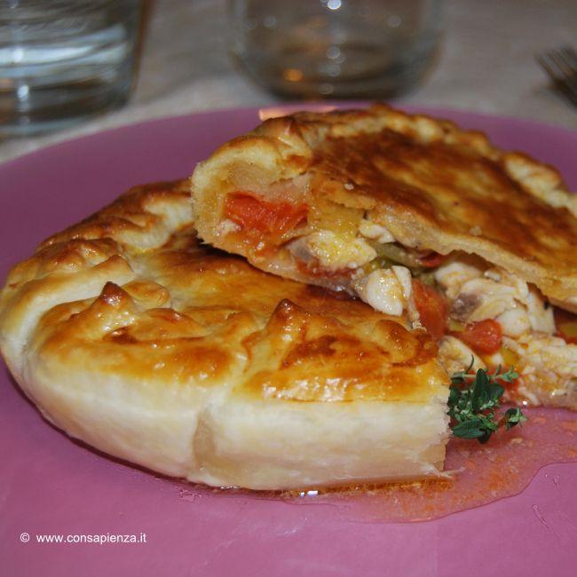 Sfogliata di pesce e pomodorini - Federica Sapienza Chef a domicilio